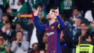 Voilà une scène peu fréquente dans le football. Auteur de son 33ème triplé en Liga et d'un match exceptionnel, Lionel Messi a fait plier le Betis Séville ce...