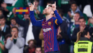 ​Barcelona superstar Lionel Messi has won trophy after trophy and set records galore during his illustrious career, but the Argentine icon managed a first...