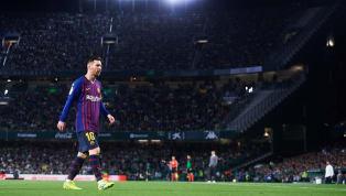 La Liga'da Pazar akşamı oynanan Real Betis-Barcelona maçında, Barcelona'nın Arjantinli yıldızı Lionel Messi 3 gol birden atarak hat-trick yaptı. Messi böylece...
