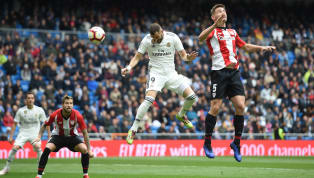 Jornada 33 La Liga Real Madrid 3-0 Athletic Bilbao Santiago Bernabeu Real Madrid menang 3-0 atas Athletic Club Bilbao di jornada 33 La Liga melalui hattrick...