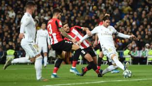Jornada 18 La Liga Real Madrid 0-0 Athletic Bilbao Santiago Bernabeu Real Madrid gagal menempel ketat Barcelona di puncak klasemen La Liga. Menjamu Athletic...