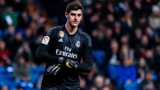 A section of Atletico Madrid fans pelted Thibaut Courtois with toy rats as the Real Madrid goalkeeper made his first return to face Atletico during...