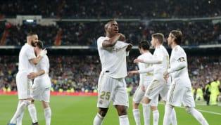 Real Madrid vừa hạ Barcelona trong trận cầu Siêu Kinh Điển rạng sáng 2/3 với hai pha lập công của Vinicius Jr và Mariano Diaz.  Hai bàn thắng của Vinicius...
