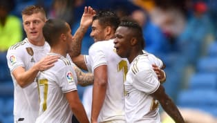 back Karim Benzema grabbed a double as Real Madrid defeated Levante 3-2 to take them to eight points after four rounds of the new season. Visiting goalkeeper...