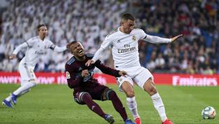 Real Madrid bị Celta Vigo thủ hòa 2-2 trong trận cầu kịch tính ở vòng 24 La Liga rạng sáng 17.2. Eden Hazard và Toni Kroos là hai cầu thủ thi đấu hay nhất...