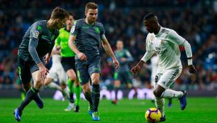 Real Madrid akan menyambangi Anoeta, markas Real Sociedad, di pekan 36 La Liga. Sisa dua laga terakhir dan terpaut enam poin dengan Atletico Madrid di urutan...