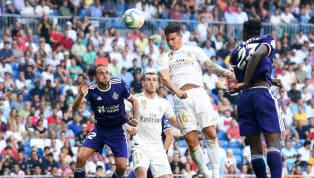"""Los blancospartieron ante los pucelanos con una ofensiva compuesta porKarim Benzema,James Rodríguez, Gareth Bale yFrancisco """"Isco"""" Alarcón. Estos..."""