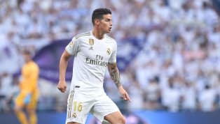 GelandangReal Madrid,James Rodriguez bak sebagai rekrutan anyar bagi Zinedine Zidane di musim 2019/20, setelah dua musim menjalani masa peminjaman dengan...
