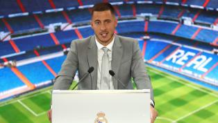 Winger anyar Real Madrid,Eden Hazardbaru saja dikenalkan ke publik pada Kamis (13/6) di Santiago Bernabeu. Dalam konferensi pers perdananya, pemain asal...