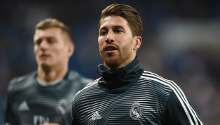 ​Sergio Ramos was left cursing himself on Tuesday night as he watched on from the stands at the Bernabeu as his Real Madrid teammates crashed out of the...