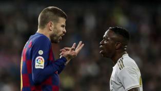 DécidémentGérard Piquén'aime pas le club madrilène. Défait dimanche soir au Santiago Bernabeu sur le score de 2 buts à 0, le FC Barcelone laisse la tête...