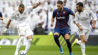 Jornada 25 La Liga Levante vs Real Madrid Ciutat de Valencia Minggu, 23 Februari 2020 pukul 03.00 WIB BeIN Sports 2 Usai imbang 2-2 melawan Celta Vigo, Real...