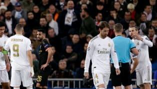 Sergio Ramos nhận thẻ đỏ sau pha kéo ngã Gabriel Jesus ở những phút cuối trận cầu lượt đi vòng 1/8 Champions League sáng 27/2. Ngôi sao của Real...