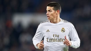 James Rodriguez 'looks set' to depart Real Madrid when the transfer window opens, with Arsenal, Everton and Wolverhampton Wanderers most interested in signing...