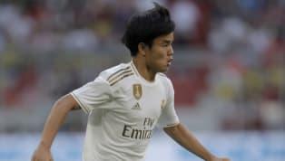 El joven jugador japonés aterrizó ayer en Palma de Mallorca y nada más llegar la prensa ya le estaba esperando. Lepreguntaron si había hablado con Asensio...