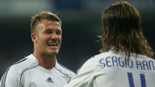 Former​ Real Madrid superstar David Beckham posted a heartfelt message for Sergio Ramos following the defender's record-breaking appearance for Spain. The...