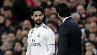 El técnico y el futbolista delReal Madrid, habitualmente relacionados por su fría relación, tuvieron un momento del entrenamiento en el que el primero...