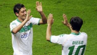 Die Transfersummen des heutigen Fußballs nehmen teils unvorstellbare Summen an. So viel wären die Abgänge der ehemaligen Werder-Stars Mesut Özil, Diego,...