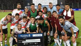 Con goles de Pinola y Palacios, River venció 2 a 0 a Estudiantes de Caseros en Córdoba y se clasificó a la final de la Copa Argentina donde ya lo esperaba...