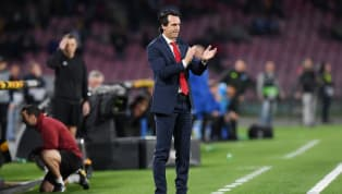 ​​Arsenal head coach, Unai Emery has admitted that he is proud of his players after his side beat ​Napoli 3-0 in aggregate over two legs in the quarter-finals...