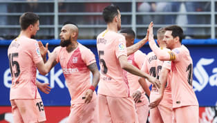 Draw Champions Barcelona were held to an eventful 2-2 by Eibarat the Ipurua Municipal Stadium on Sundayin the final game of another victorious La Liga...