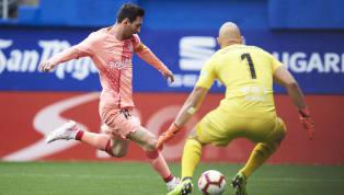 Jornada 38 La Liga Eibar 2-2 Barcelona Municipal de Ipurua Barcelona urung menutup La Liga 2018/19 dengan kemenangan saat menyambangi markas Eibar, Minggu...
