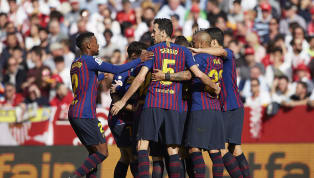 Barcelona skipper, Lionel Messi, bagged his 50th career hat-trick to lead his side to a hard-fought 4-2 win at Sevilla in La Liga on Saturday afternoon. The...