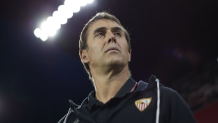 El director técnico delSevilla, Julen Lopetegui, habló en conferencia de presaante los medios de comunicación después de la derrota 2-1 ante elReal...