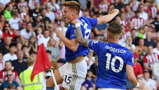 ints Leicester City beatSheffield United 2-1at Bramall Lane on Saturday, with Harvey Barnes scoring an outrageous volley to win the game after strikes from...