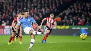 Với cú sút phạt 11 mét hỏng ăn trong trận đấu vớiSheffield United, tiền đạo Gabriel Jesus đang đạt tỷ lệ sút penalty tệ nhất lịch sử Ngoại hạng Anh. Cụ thể,...