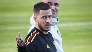 """Eden Hazard mới đây đã lên tiếng khi xuất hiện nhiều tin đồn anh đạt thỏa thuận gia nhập Real Madrid. Eden Hazard asked about Real and his future again: 🗣 """"I..."""