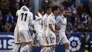 Real Madrid: Courtois, Carvajal, Ramos, Varane, Kroos, Benzema, Modric, Marcelo, Casemiro, Lucas V, Vinicious Jr. 📋 ¡Nuestro once inicial frente a la...