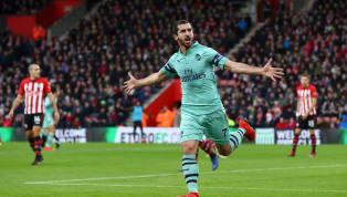 VIDEO: GOOOOL Arsenal! Tendangan Mkhitaryan Membentur Kaki Vestergaard! 2-2 vs Soton!