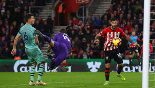 Run Southampton sealed a shock win over Arsenal at St Mary's on Sunday courtesy of a late Charlie Austin header to seal all three points for new Saints boss...