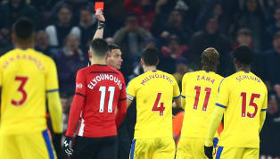 t Mary's Southampton and Crystal Palace played out an entertaining 1-1 draw at St Mary's, in a game that saw Wilfried Zaha sent off in second half stoppage...