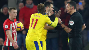 "pton Crystal Palace forward Wilfried Zaha has been charged with ""improper conduct"" following his red card against Southampton on Wednesday, and could face an..."