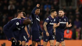 tory West Ham narrowly saw off relegation rivals Southampton to earn a vital three points, and keep Manuel Pellegrini in the job for another week. West Ham...
