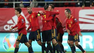 España aplastó y certificó hoy contra Malta la primera posición de su grupo de clasificación a la Eurocopa (7-0).Los de Robert Moreno dominaron desde el...