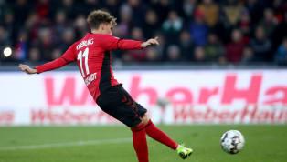 Luca Waldschmidt spielt momentan die beste Saison seiner Karriere. Mit sieben Toren und drei Vorlagen in 24 Bundesligaspielen gehört er zu den absoluten...