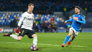 Penjaga gawang Barcelona Marc-Andre ter Stegen mengaku terkesima dengan atmosfer San Paolo, markas Napoli. Kiper berusia 27 tahun sudah sempat merasakannya...