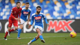 Lorenzo Insigne bagged himself a first-half brace from the penalty spot in his side's 2-0 win over Perugiain the Coppa Italia on Tuesday afternoon. The win...