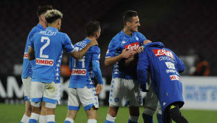 ie A Napoli reduced Juventus' lead at the top of Serie A to six points thanks to a 2-1 win at home over ten-man Lazio.  Goals from Jose Callejon and Arkadiusz...