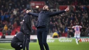 ​Nathan Jones was unveiled as the new Stoke City manager this month, and has endured somewhat of a turbulent start to life at the Potters. Jones became the...