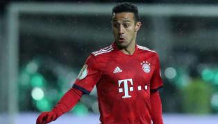 DerFC Bayern Münchenmuss in den nächsten Wochen auf Mittelfeldregisseur Thiago verzichten. Wie der Rekordmeister mitteilte, zog sich der Spanier beim...