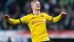 Borussia Dortmund'un devre arasında Red Bull Salzburg'dan kadrosuna kattığı Erling Haaland görev yaptığı 8 Bundesliga randevusunda 9 gole imza attı. 2020...