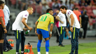 Paris Saint-Germain forward Neymar has suffered yet another injury while on international duty with Brazil. The winger was playing against Nigeria in a...