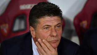 Conferenza stampa della vigilia per Walter Mazzarri, tecnico delTorino, in vista dell'attesa gara di ritornodei play-off diEuropa League contro gli...