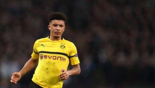 Sebuah keputusan tepat bagi Jadon Sancho saat memilih memutuskan untuk hengkang dariManchester Citydan bergabung ke Borussia Dortmunddi musim 2017/18...
