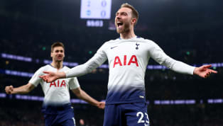 shes Tottenham Hotspur avoided a blow to their top-four hopes as Christian Eriksen struck a late winner to give Spurs a win over a resilient Brighton and Hove...