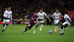 ​In amongst Barcelona's exquisite attacking football, in which Lionel Messi was the maestro as the Catalan giants dismantled Tottenham in the Champions League...